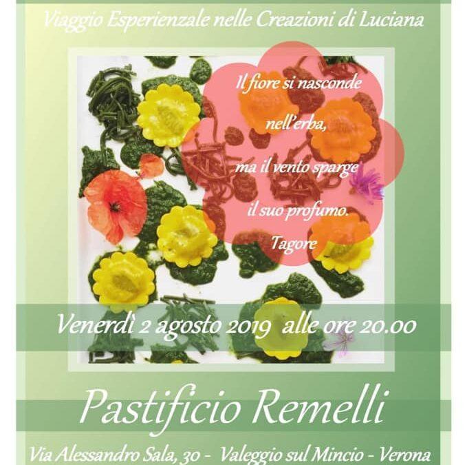 Cena Esperienziale al Pastificio Remelli settembre 2019